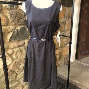 MSK black dress with removable belt